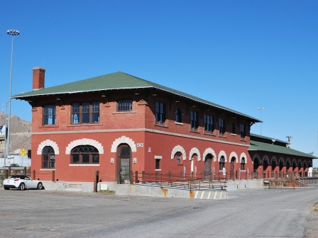 El paso southwestern railroad freight depot saved for The house company el paso
